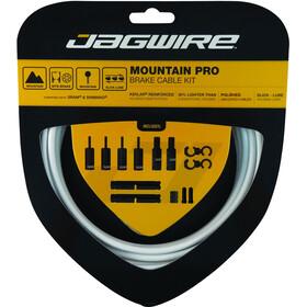 Jagwire Mountain Pro Brake Cable Kit white